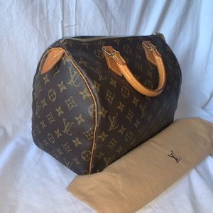 100% Authentic Louis Vuitton Speedy 30